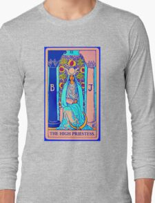 the technicolor high priestess Long Sleeve T-Shirt