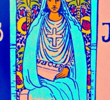 the technicolor high priestess Sticker
