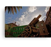 WWII Canon  Canvas Print