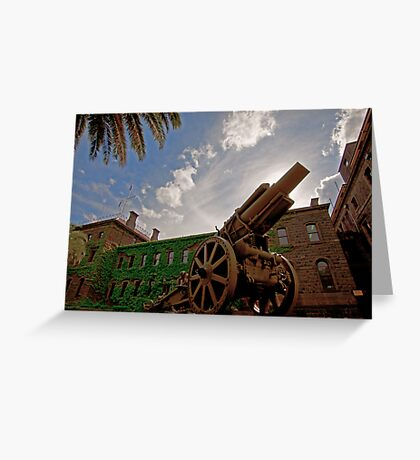 WWII Canon  Greeting Card