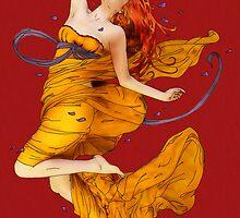 Autumn Fire Dance by Tiffany Muff