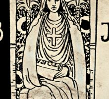 the monochromatic high priestess Sticker