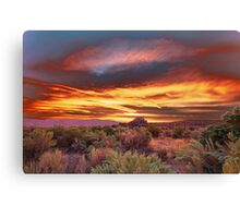 Palomino Valley Pre-Sunrise Canvas Print
