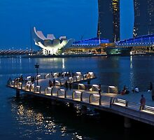 Marina Bay, Singapore by Tamara Travers