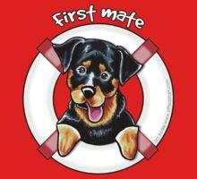 Rottweiler :: First Mate Kids Tee