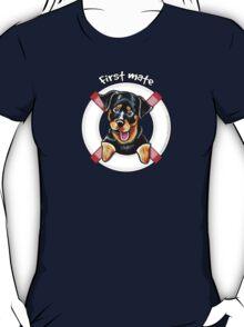 Rottweiler :: First Mate T-Shirt