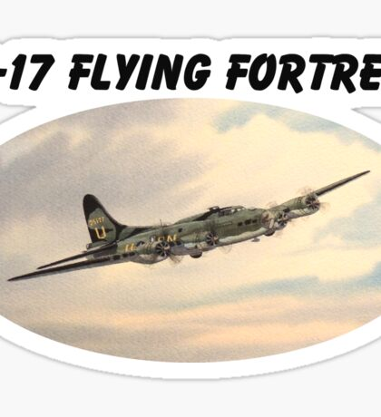 B-17 Flying Fortress Sticker