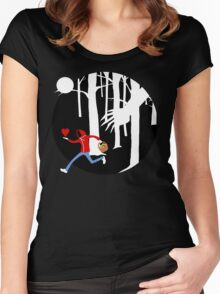 """""""What a big heart I have."""" Women's Fitted Scoop T-Shirt"""