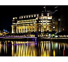 The Fullerton Hotel, Singapore Photographic Print