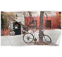 East Village bike Poster