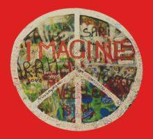 All You Need is Love - The Beatles - John Lennon - Imagine One Piece - Short Sleeve