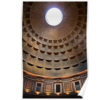 The Pantheon Dome Poster