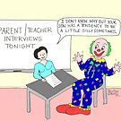 Parent-teacher interview. by Pauline O'Brien