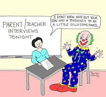 Parent-teacher interview. by Pauline O'Brien