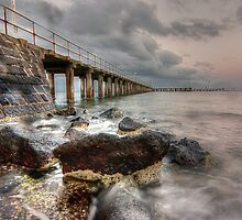 St Leonards Pier at Sunset by caru