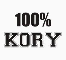 Hey KORY, let the people know that you are a 100 percent KORY. it can be a getter gift item too. Kids Clothes