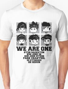 EXO (EXO-K) We Are One Chibi T-Shirt