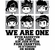 EXO (EXO-K) We Are One Chibi by k-waii