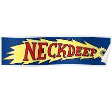 Neck Deep shooting star Poster