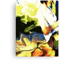 Swinging sweetly Canvas Print