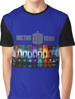 The Doctor Through Time Graphic T-Shirt