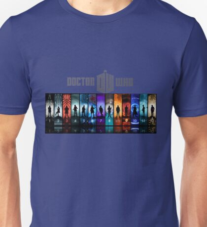 The Doctor Through Time Unisex T-Shirt