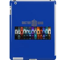 The Doctor Through Time iPad Case/Skin