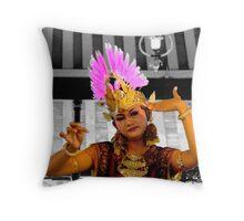 Ramayana ballet dancer...  Throw Pillow