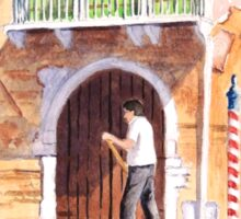 Venice - The Green Shutters Sticker