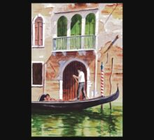 Venice - The Green Shutters One Piece - Long Sleeve