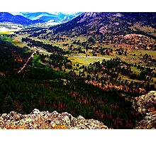 On Top of the World Photographic Print
