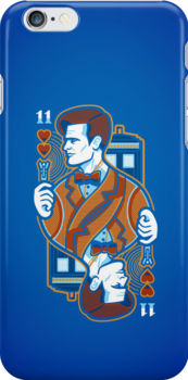 11th of Hearts -  - IPHONE CASE by WinterArtwork