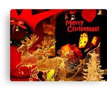 Christmas goodies... Canvas Print