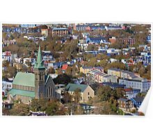 Oldest City In Canada & most easterly point in North America (St John's Newfoundland Canada) Poster