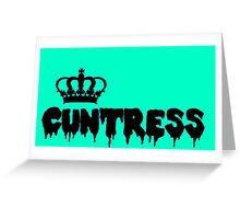 Queen Cuntress Greeting Card
