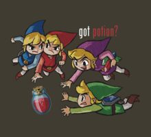 got potion? - four swords by BrendanHouse