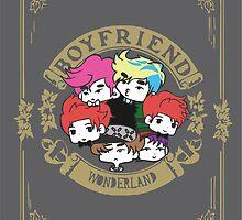 BOYFRIEND Chibi Wonderland by k-waii