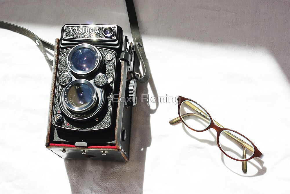 yashica & cat eyes by Soxy Fleming