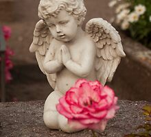 Praying Cherub by Tiffany Muff