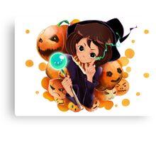 the.Pumpkin Queen Canvas Print