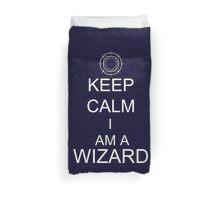Keep Calm I am a Wizard Duvet Cover