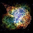 Space Gun Explosion by Vanessa Barklay