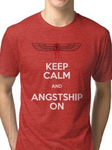 Angstshipping Tri-blend T-Shirt