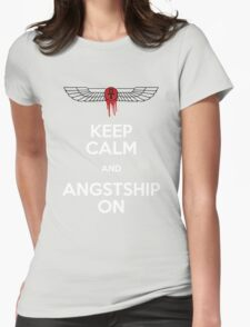 Angstshipping Womens Fitted T-Shirt