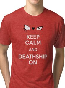 Deathshipping Tri-blend T-Shirt