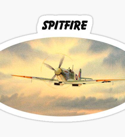 Spitfire MK 9  Sticker