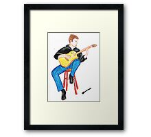 The Music takes Me Away Framed Print