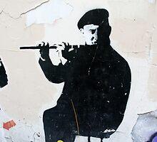 Graffiti Musician by Tiffany Muff