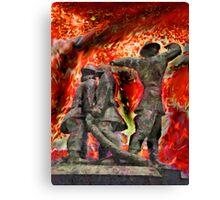 London's World War 2 Firemen Canvas Print