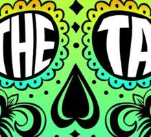 Theta Sugar Skull Sticker